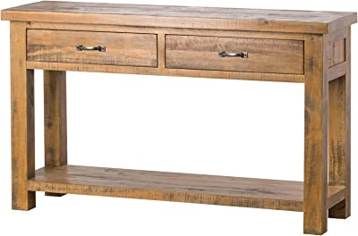 Home Works THE DEANERY COLLECTION TWO DRAWER CONSOLE TABLE