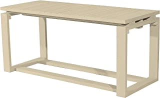 Asta Solid Wood Bench, Coffee Table, Flipper Collection, GF-121/BGE (Beige)