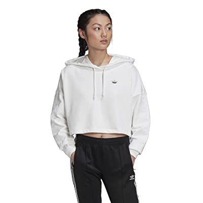 adidas Originals Fakten BB CP Hoodie (White) Women