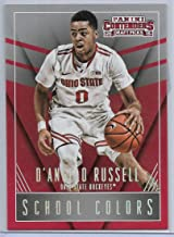 2015-16 D'Angelo Russell Rookie Card Lot Of 2 Contenders Draft # 12 & Prizm #322