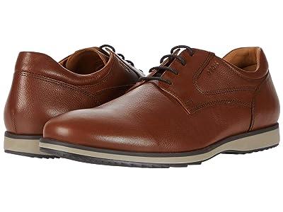 Geox Blainey (Cognac Tumbled Leather) Men