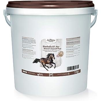 Makana Bierhefepellets BT 1,5 kg Beutel mit Leinkuchen Biertreber für Pferde