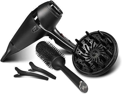 ghd air® hair drying kit, kit professionale per asciugare i capelli con asciugacapelli ed accessori, ideale per otten...