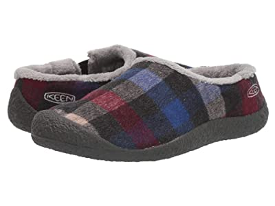Keen Howser Slide (Multi Plaid/Raven) Women