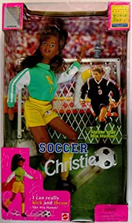 Barbie Soccer Christie 1998 Edition Women's World Cup FIFA