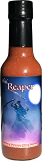Carolina Reaper Hot Sauce Wicked Reaper With 6 Chili Peppers World's Hottest Peppers
