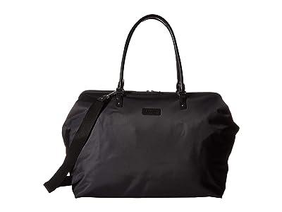 Lipault Paris Lady Plume Weekend Bag M 2.0 (Black) Bags
