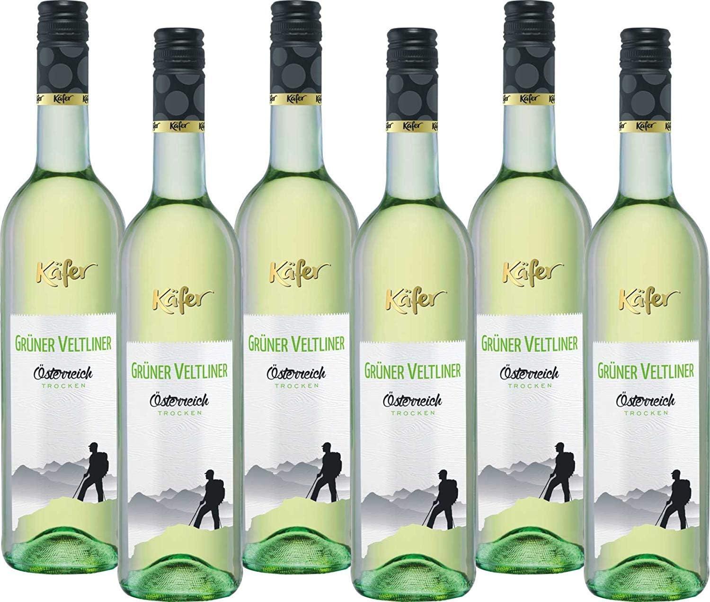 Bar de la mariquita verde velt Liner Calidad Vino Austria (6x 0.75l)