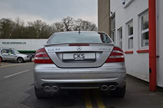W209 CLK CLK200 CLK220 CLK320 CLK350 CLK500 CLK55 Sport Exhaust Quad Tailpipe