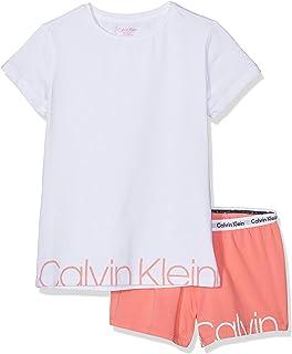 Amazon.es: Calvin Klein - Pijamas y batas / Niña: Ropa