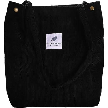 Raiatea Groß Cord Tasche Damen Ultraleicht Umhängetasche für Uni Arbeit Mädchen Schule
