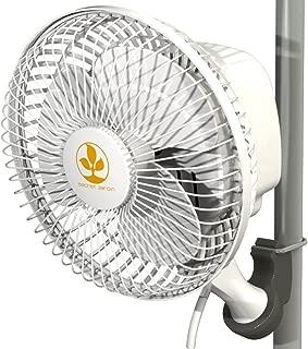 Secret Jardin Monkey Fan 16 Watts 6 Inch Fits 0.63-0.83 Inch Grow Tent Poles Clip Fan 2 Pack Set Bundle