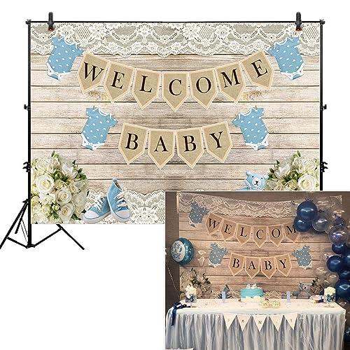 Baby Shower Backdrop Amazon Com