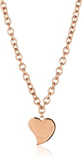 Guess Womens Stainless Steel Fashion Bracelet - UBN28061, Color Gold, Size 51 cm