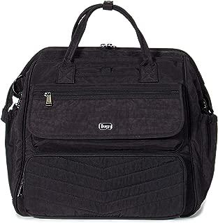 Lug Women's Via Travel Duffel Bag, Shimmer Black, One Size
