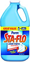 Sta-Flo 13101 Concentrated Liquid Starch, 64 oz Bottle (Case of 6)