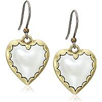 Lucky Brand Women's Heart Drops Earrings