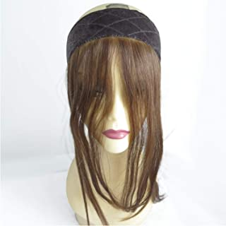 Jewish Wig Lace Grip Hair Band,Velvet Comfort Headband for Women Natural Hairline, Color12/8