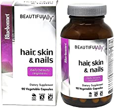 BlueBonnet Nutrition Beautiful Ally Hair, Skin & Nails, Hydrolyzed Collagen from Grass Fed Cows, Collagen Peptides Type 1 ...