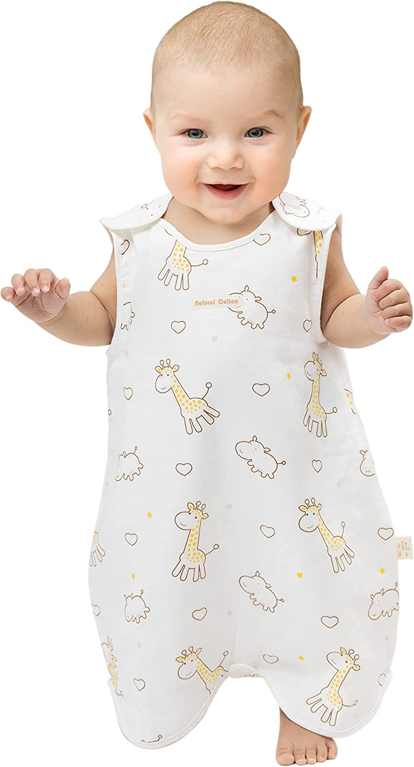 Sleeveless Summer Romper for Baby, One Piece Baby Playwear, Easy Snap for Early Walker