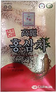 ILHWA 300g(100p x 3g) Korean 6Years Red Ginseng Roots Extract Tea