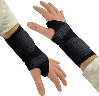 Órtesis muñequera Avanzada (2 Pack) Muñequera ajustable Férula Soporte - Ideal para Alivio inmediato del Dolor de síndrome de túnel carpiano, Dolor de muñeca, esguinces, LER y Artritis