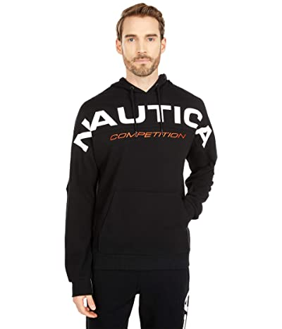 Nautica Competition Pullover Fleece (True Black) Men