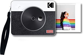 Kodak Mini Shot 3 Retro Portable Wireless Instant Camera & Photo Printer, Compatible with iOS, Android & Bluetooth, Real P...