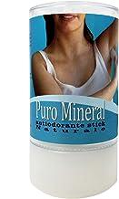 Desodorante de Piedra de Alumbre en stick - Puro Mineral - Cristal de Alumbre de Potasio 120 gr - Desodorante 100% natural - Desodorante sin Parabenos sin Aluminio