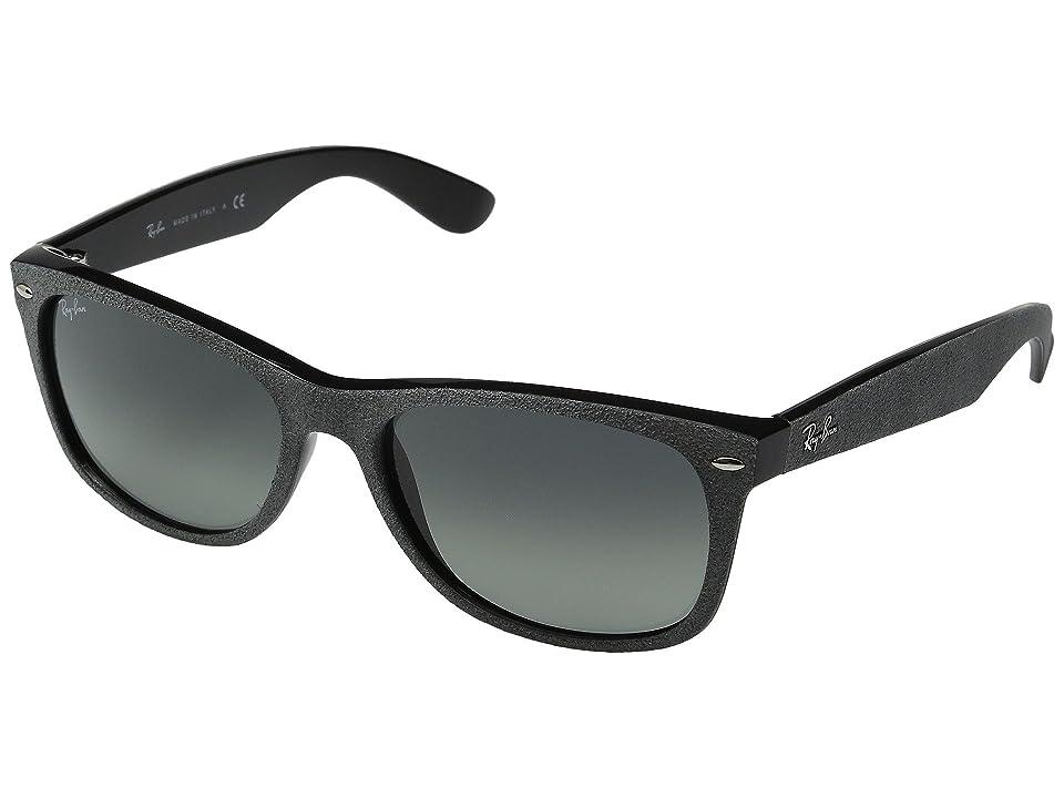 Retro Sunglasses | Vintage Glasses | New Vintage Eyeglasses Ray-Ban 0RB2132 New Wayfarer 58mm BlackGrey Gradient Fashion Sunglasses $158.00 AT vintagedancer.com