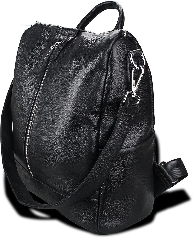 Kinokoo Women' Backpack Genuine Leather Leisure Bag