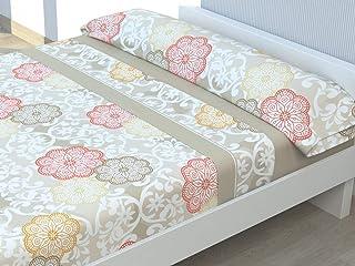 Cabetex Home - Juego de sábanas Estampadas - 3 Piezas -