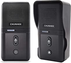Sponsored Ad - ChunHee Wireless Doorbell with Intercom for Apartment, Intercomunicador Waterproof Electronic Doorbell Chim...