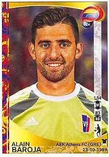 2016 Panini Copa America Centenario Soccer Sticker #281 Alain Baroja 2 Inch wide X 3 inch tall album sticker