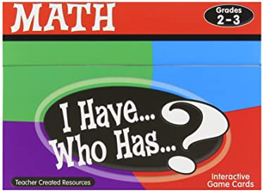 Teacher Created Resources I Have... Who Has...? Math Games Grade 2-3 (7818)