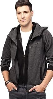 EYEBOGLER Cotton Men's Hoodie Sweatshirt Jacket (EBSW2MD-AGBL)