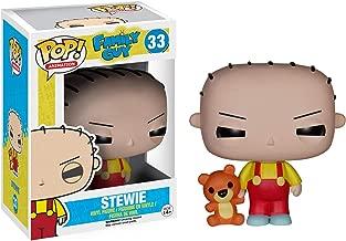 Funko Stewie: Family Guy x POP! Animation Vinyl Figure & 1 POP! Compatible PET Plastic Graphical Protector Bundle [#033 / 05240 - B]