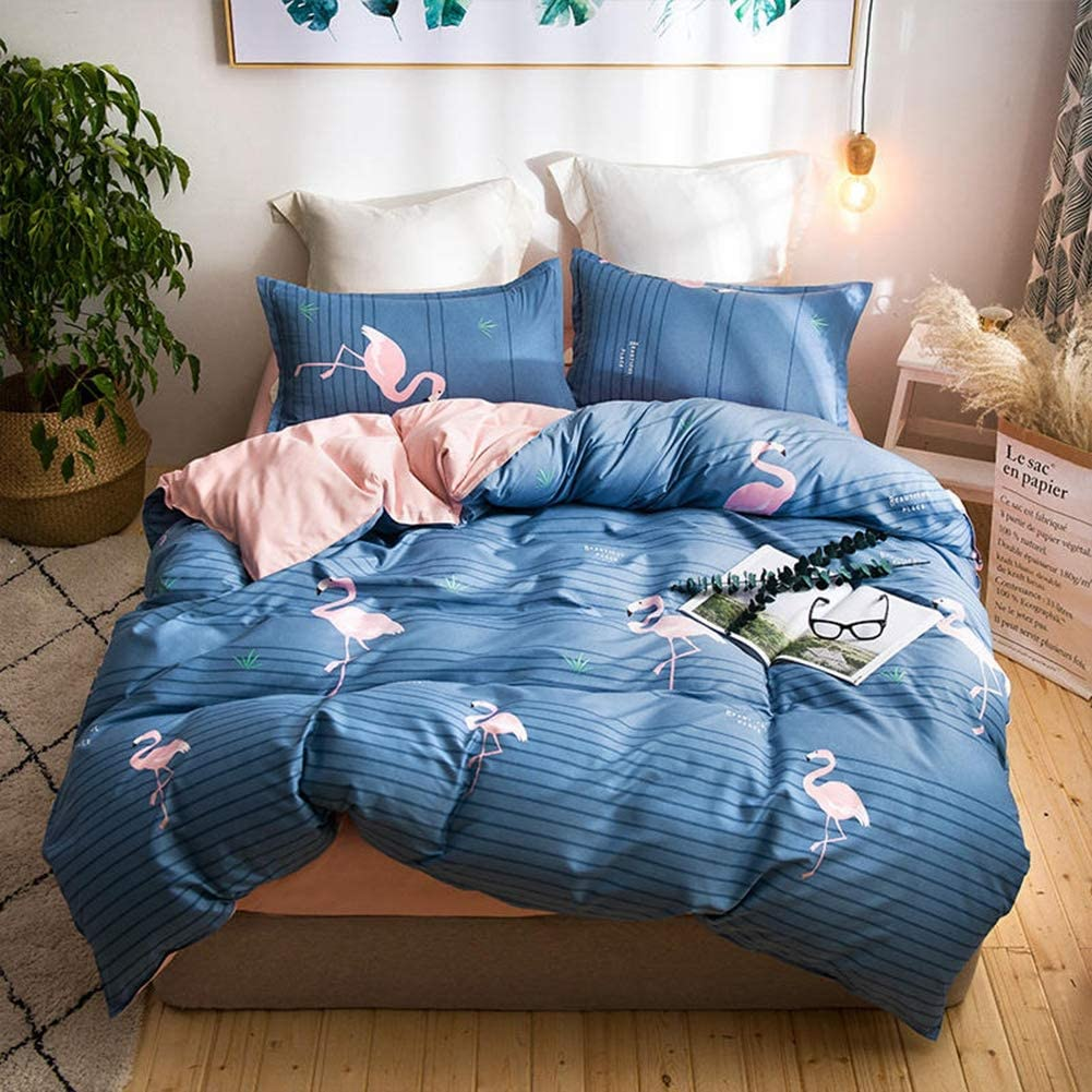 YYQTGG Reactive Bedding Set Metal National uniform free shipping Super beauty product restock quality top Polyester Zipper Mate Quality