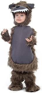 Furry Wolf Children's Halloween Costume - Werewolf Dress Up Set for Kids