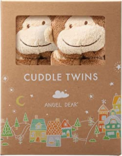 Angel Dear Cuddle Twin , Brown Monkey