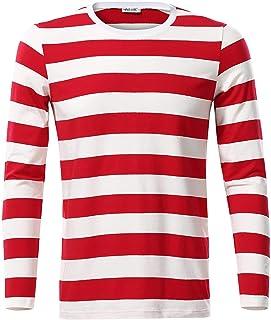 Amazon.es: camiseta rayas rojas y blancas 0 20 EUR