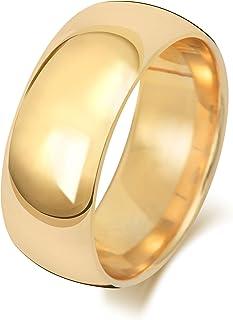 Anello Fede Nuziale Uomo/Donna 8mm in Oro giallo 18k (750) WJS1886618KY
