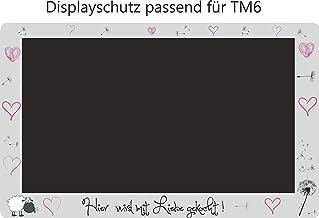 Displaybeschermfolie voor TM6 Schaap Paardebloem roze