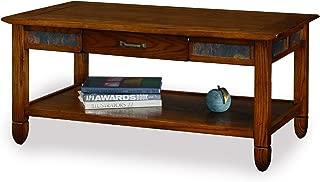 Slatestone Oak Storage Coffee Table - Rustic Oak Finish