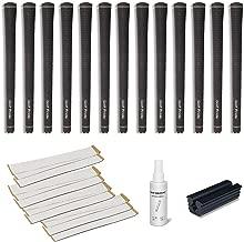 Golf Pride Tour Velvet Jumbo - 13 pc Golf Grip Kit (with Tape, Solvent, Vise clamp)