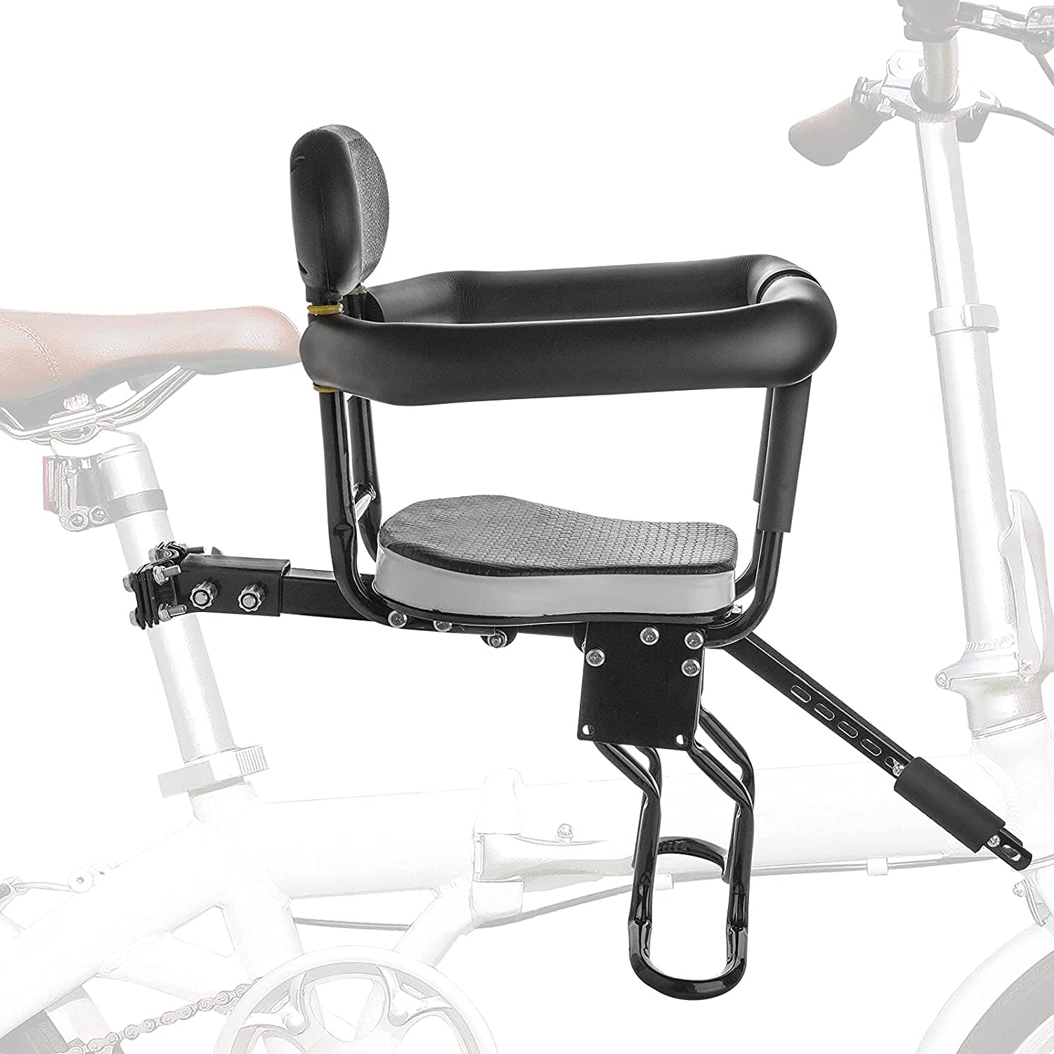 Siiboat Bike Seats Bicycle Carrier Front Mounted