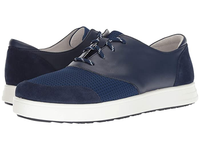 Alegria  Flexer (Blue) Mens Lace up casual Shoes