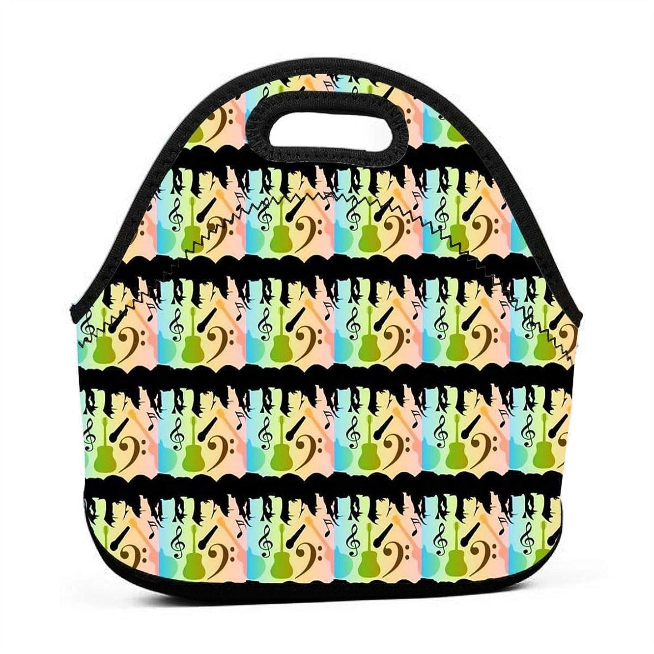 書誌分類するおもてなしBeatles In Color 保温再利用可能おポータブル弁当箱ランチトートバッグ食事袋子供大人ユニセックス