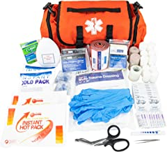 LINE2design Emergency Fire First Responder Kit – Fully Stocked First Aid Rescue..