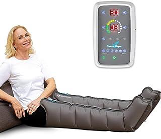 Venen Engel ® 6 Mobil aparato de masajes con botas, alimentado por batería, 6 cámaras de aire desactivables, tiempo y pres...